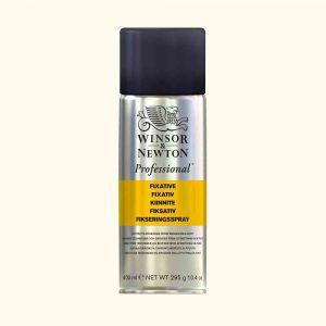fissativo spray winsor e newton carboncino disegno