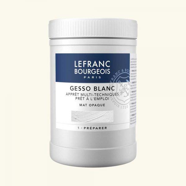 gesso acrilico 1 litro Lefranc