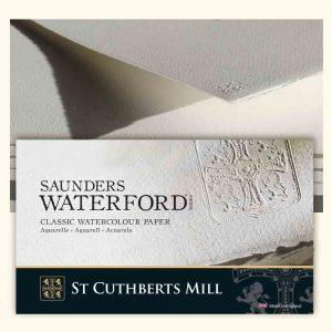 fogli saunders waterford 100 cotone 50x70