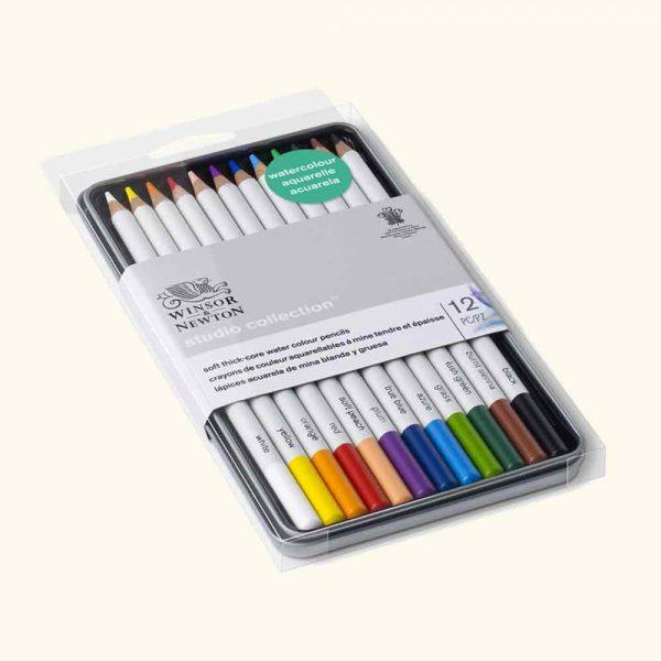 set matite acquerello 12pz