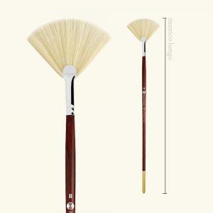 pennelli setola ventaglio s.55 - Borciani e Bonazzi