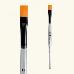 pennello piatto sintetico s.901