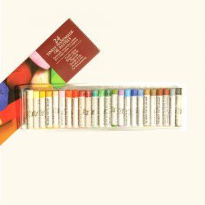 scatola pastelli olio 24 colori
