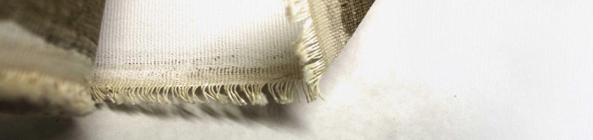 banner tela rotolo cotone